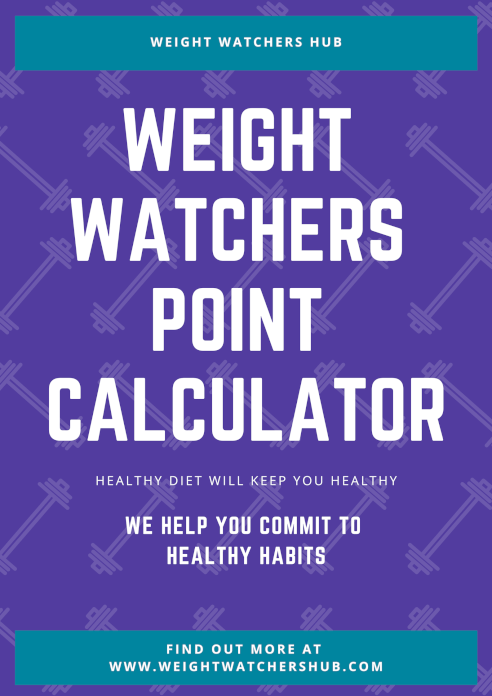 Weight watchers point calculator